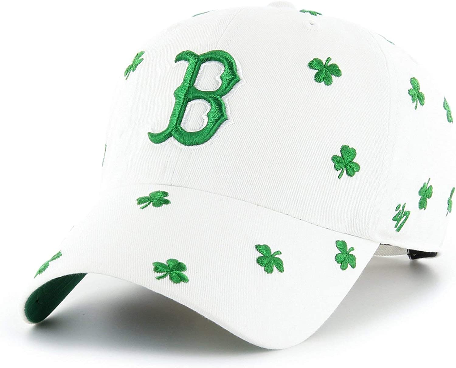 47 Gorra de béisbol St. Patricks Clover Clean Up Boston Red Sox ...