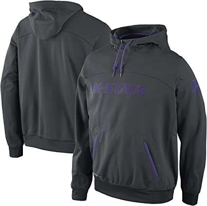 824e182cc045 Amazon.com  NIKE Kansas State Wildcats Elite Therma-Fit Pullover ...