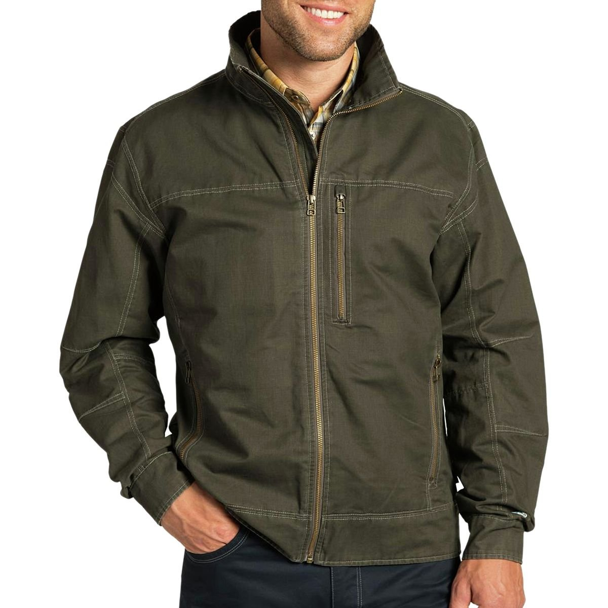 Amazon.com: Kuhl Mens Canvas Classic Burr Jacket (X-Large, Gun Metal): Sports & Outdoors