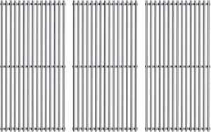 Votenli S720-0896 (3-Pack) Stainless Steel Cooking Grate for Homedepot Nexgrill 720-0896B 720-0896 720-0896BK 720-0896E 720-0896C 720-0896CP 720-0898 720-0898A