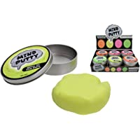 Mind Putty Glow in The Dark Novelty Toy Game Gag Science Kids Plasticine Gift