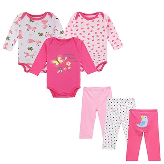 9cd1743262413 Joddie Haha 6 Pcs/Lot Mother Nest Baby Boy Clothes Newborn Toddler Infant 0-