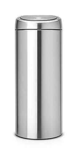 Brabantia Touch Bin, 30 L - Matt Steel