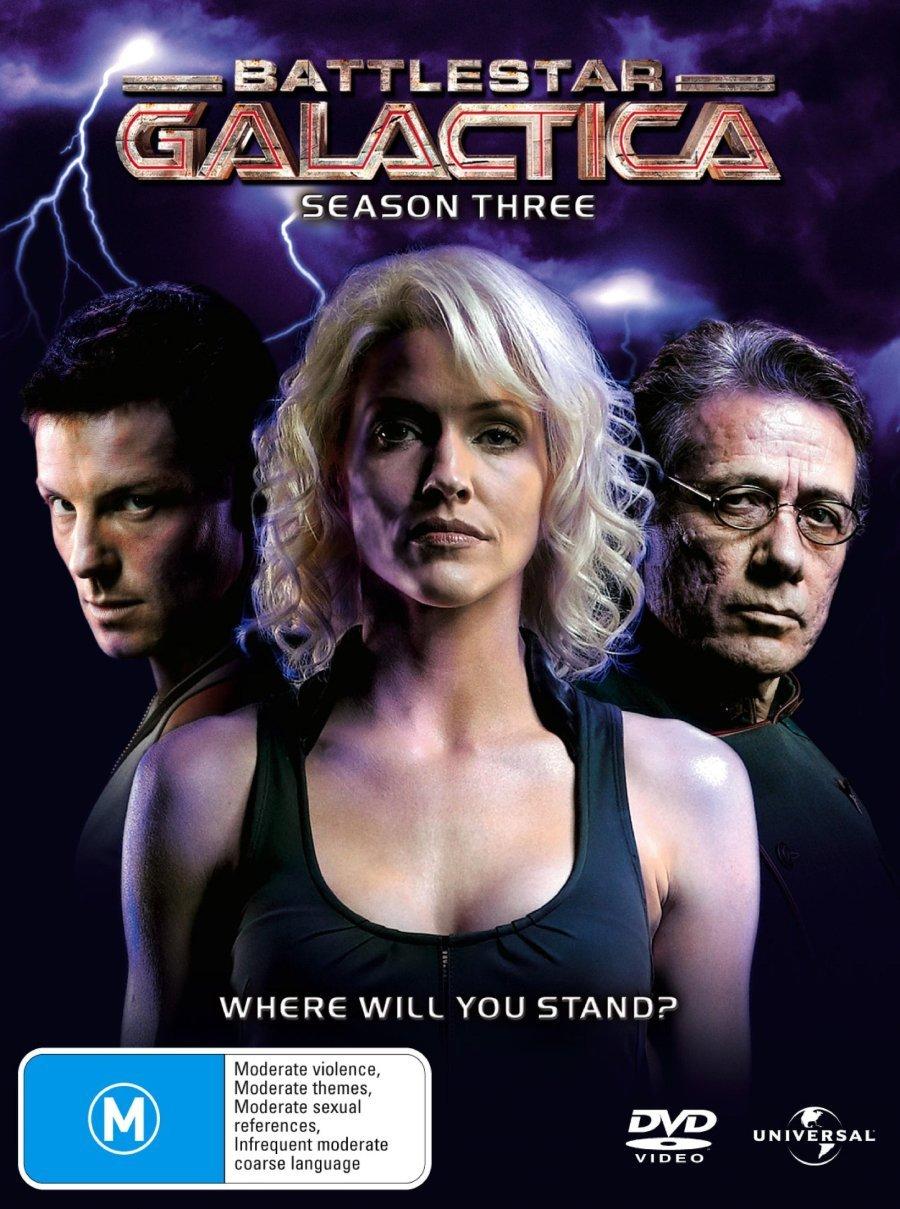 Battlestar Galactica [2004]: Season 3 [NON-USA Format / PAL / Region 4 Import - Australia]