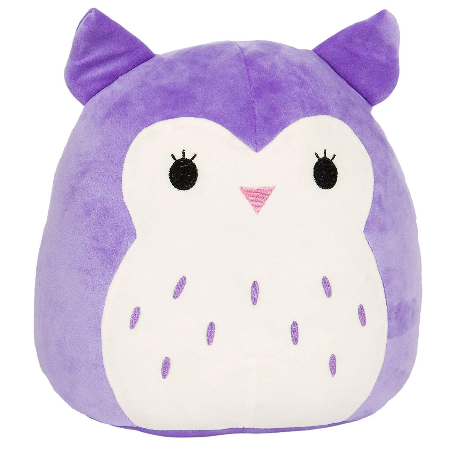 Squishmallow Kellytoy 16'' Holly The Purple Owl Super Soft Plush Toy Pillow Animal Pet Pal Buddy (Holly The Purple) by Squishmallow