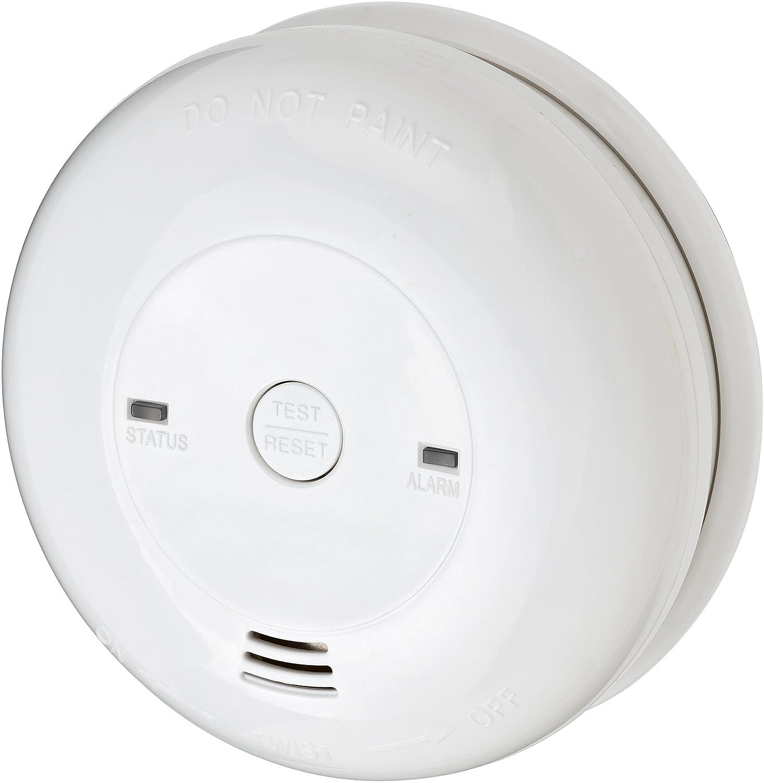 wei/ß Brennenstuhl CO-// Kohlenmonoxid-Melder CM L 4050 Batterielebensdauer 5 Jahre, mit Alarmsignal und LED-Anzeige