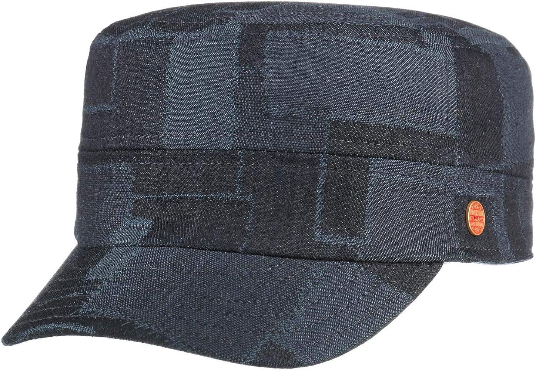 Mayser Gorra Militar Jeans Vaquera de algodón (55 cm - Azul ...