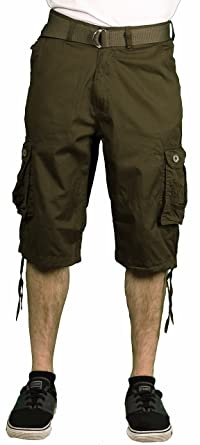 f091568a7c7e Gray Earth Young Men s Classic Cargo Shorts
