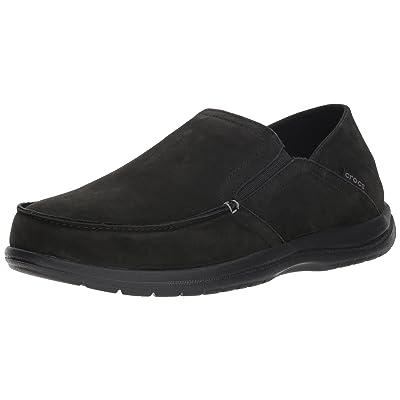 Crocs Men's Santa Cruz Convertible Leather Slip-On Loafer | Shoes