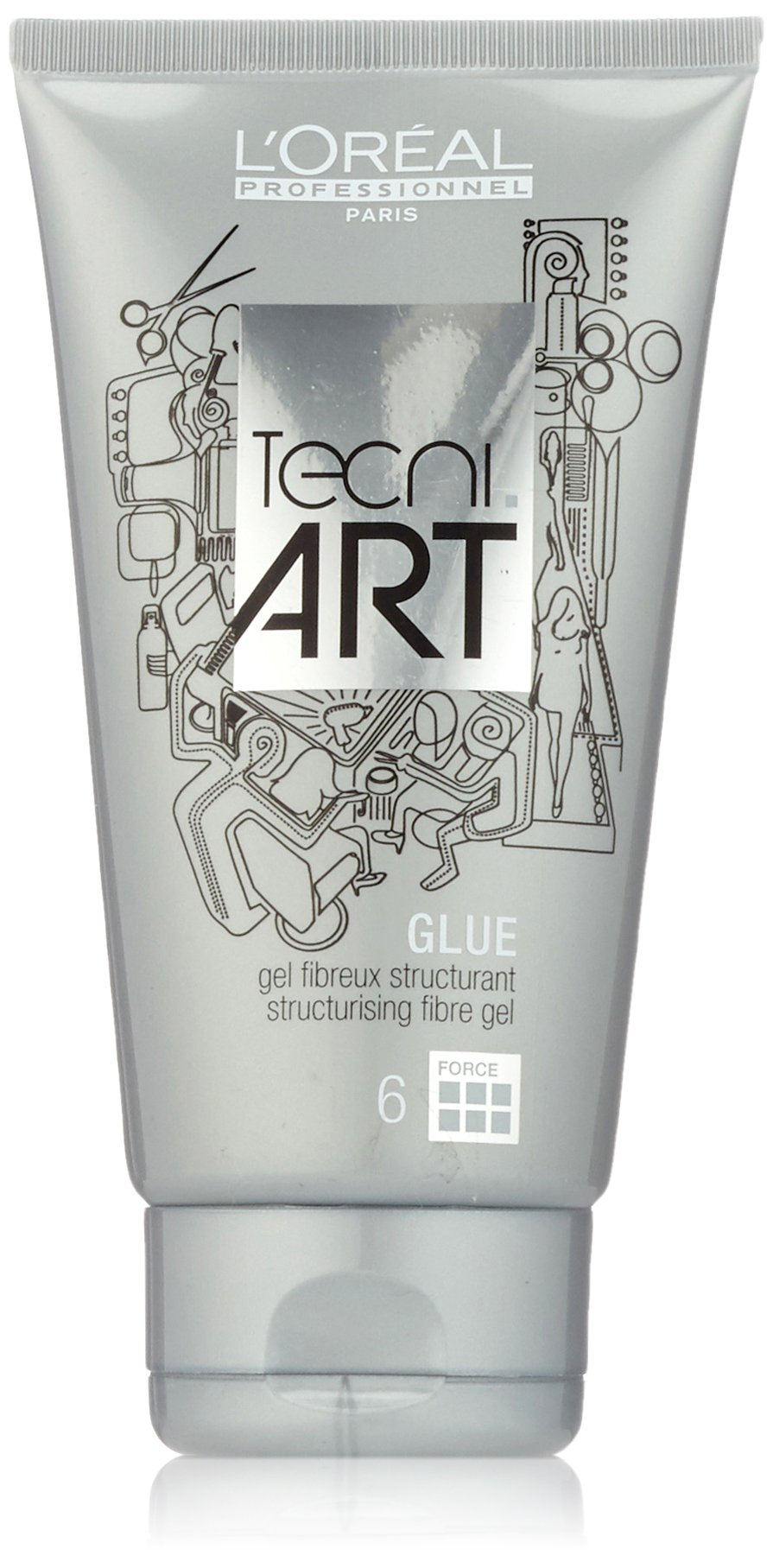 L'Oreal Professional Tecni.Art A Head Glue Structurising Fiber Gel, 5 Ounce