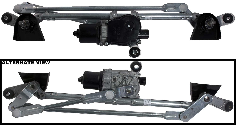 Replaces 28800-3JA2A, 28800-3JA0A APDTY 28800-3JA2A Windshield Wiper Transmission Metal Linkage Assembly w//Wiper Motor Fits 2013 Infiniti JX35 2014-2015 Infiniti QX60 2013-2016 Nissan Pathfinder