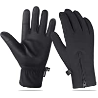 Unigear Unisex Winter Waterproof Gloves (Black)