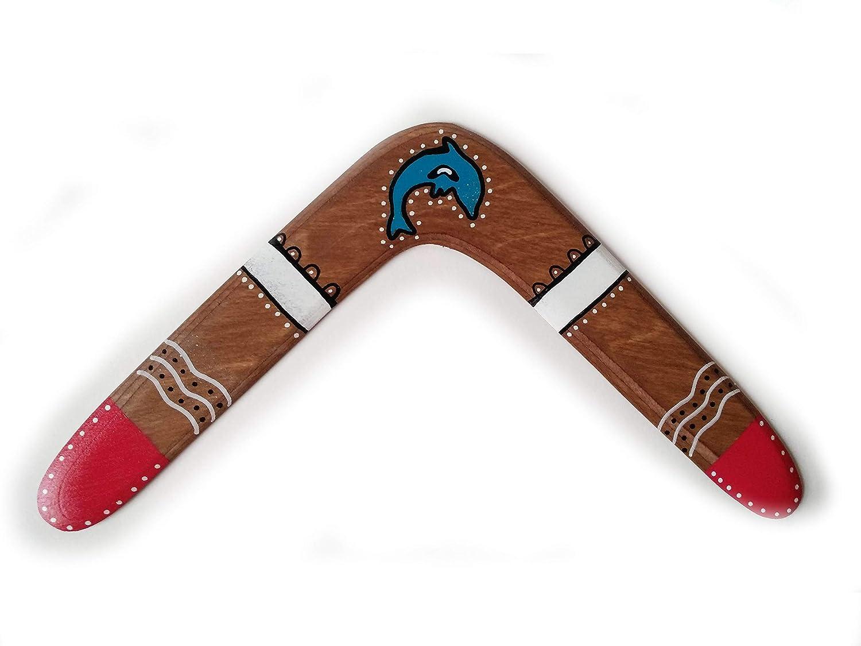 Boomerang de madera, para niños y adultos. Deporte, ocio, regalo y decoración. DIESTRO. Ideal Ideal regalo boda, regalo cumpleaños.