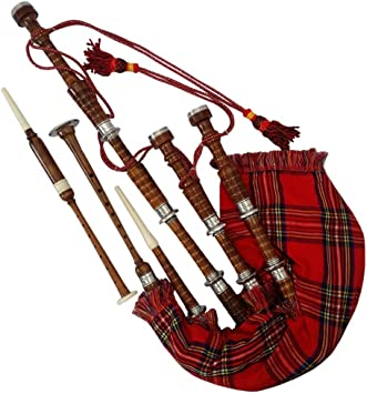 New Great Highland Bagpipe Practice Chanter Rosewood Natural//Scottish Bagpipes
