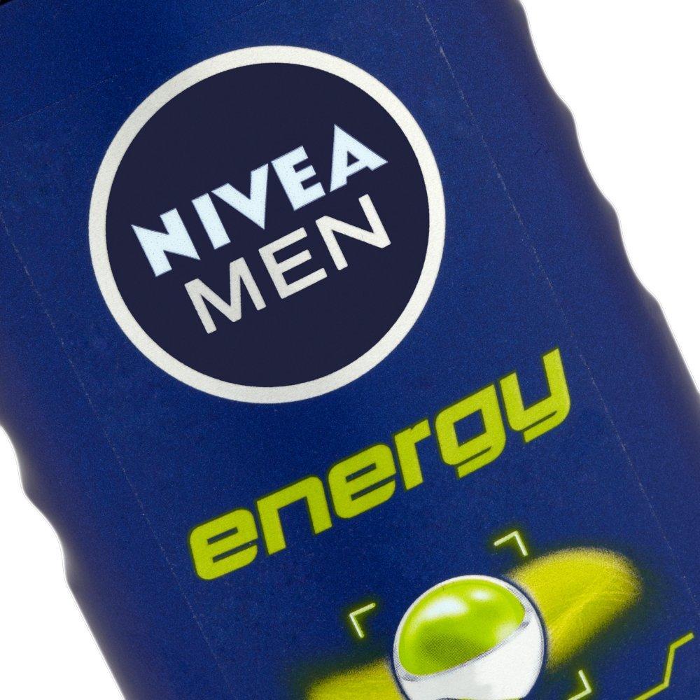 Nivea Men Energy 2-in-1 Shower Gel 250 ml – Pack of 6