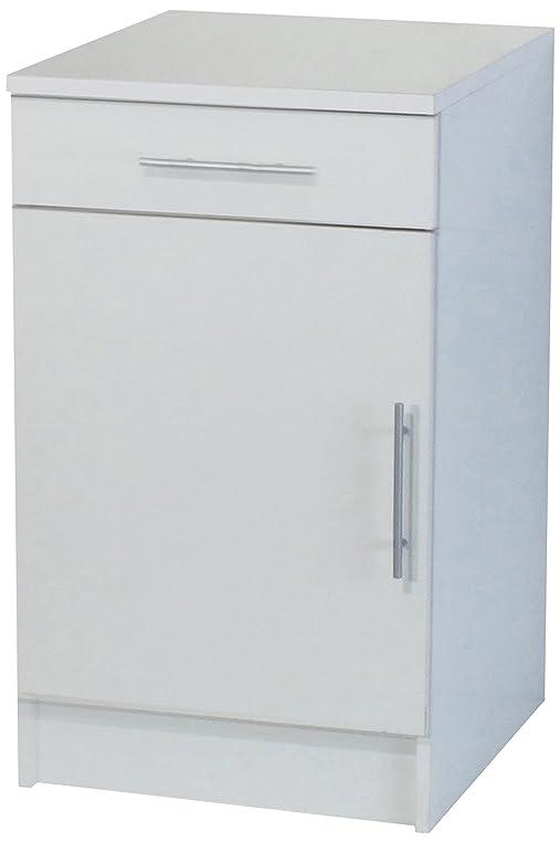 8001A2121A80 Küchenschrank Unterschrank, Tür + Schublade, Korpus ...