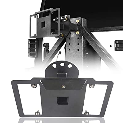 u-Box Spare Tire License Plate Mounting System (Jeep Wrangler TJ & JK 97-18): Automotive