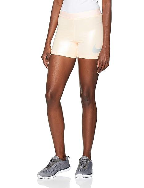 códigos de cupón buena textura originales Nike W NP 3 de Rise Pack, Pantalones Cortos de Deporte Mujer ...