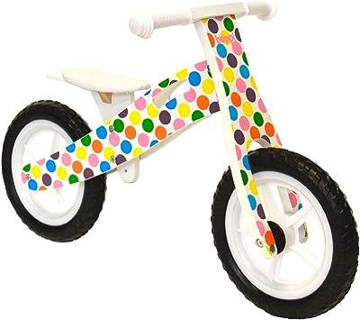 boppi® Bici sin Pedales de Madera para niños de 2-5 años - Topos ...