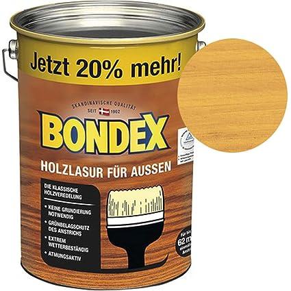 Extrem Bondex Holzlasur für Außen Kiefer 4,80 l - 329662: Amazon.de: Baumarkt FT54