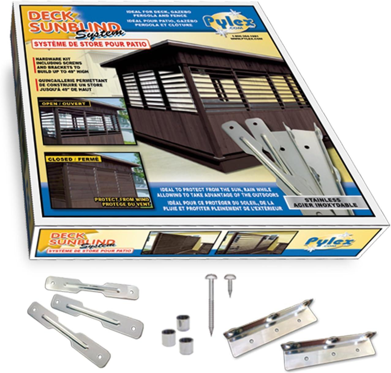 Pylex 11060 Deck Sunblind System Black