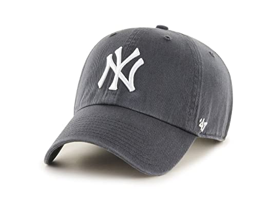 8ccd8e0325d7 Unbekannt  47 New York Yankees MLB Casquette Clean Up, Charcoal, Taille  Unique,