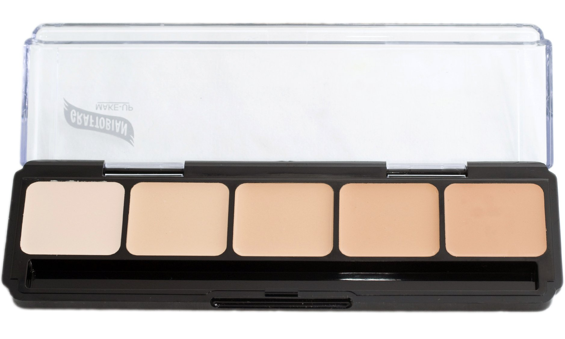 Graftobian HD Glamour Creme Foundation Palette, Cool #1