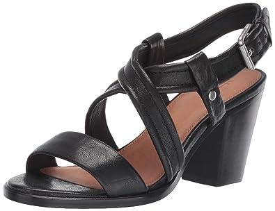 e0ab7b77582f Amazon.com  FRYE Women s Dani Criss Cross Flat Sandal  Shoes