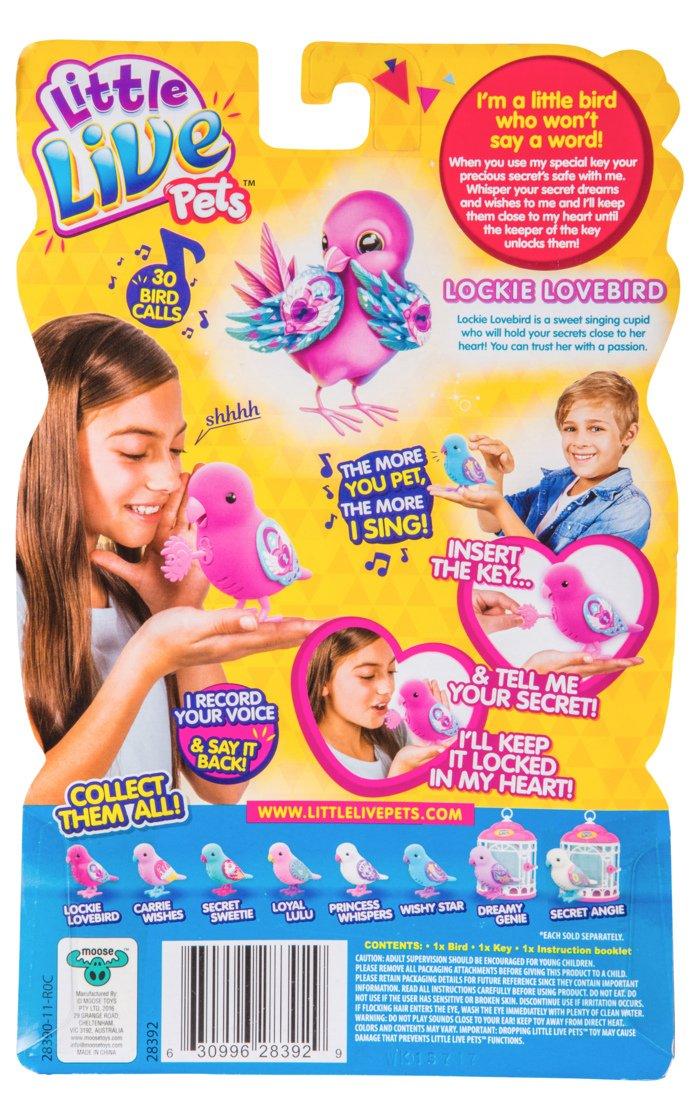 Secret Sweetie Little Live Pets Bird