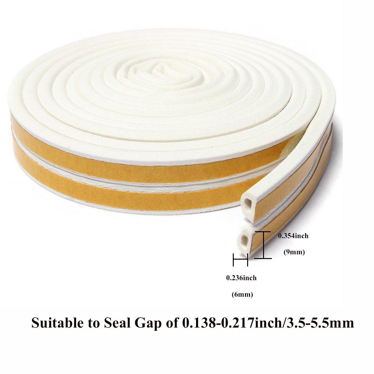 Interior door foam strip quiet — 9
