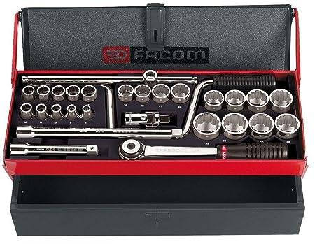 Facom S.431ADP 1//2-inch Ratchet// Socket Set