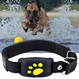 FHH GPS Dog Tracker Tracking Cat Collar Pet GPS Tracker Dog Cat Collar Water-Resistant GPS Callback Function USB…