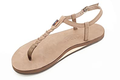 92b60eba870 Image Unavailable. Image not available for. Color  Rainbow Sandals Women s  Single Layer Premier ...