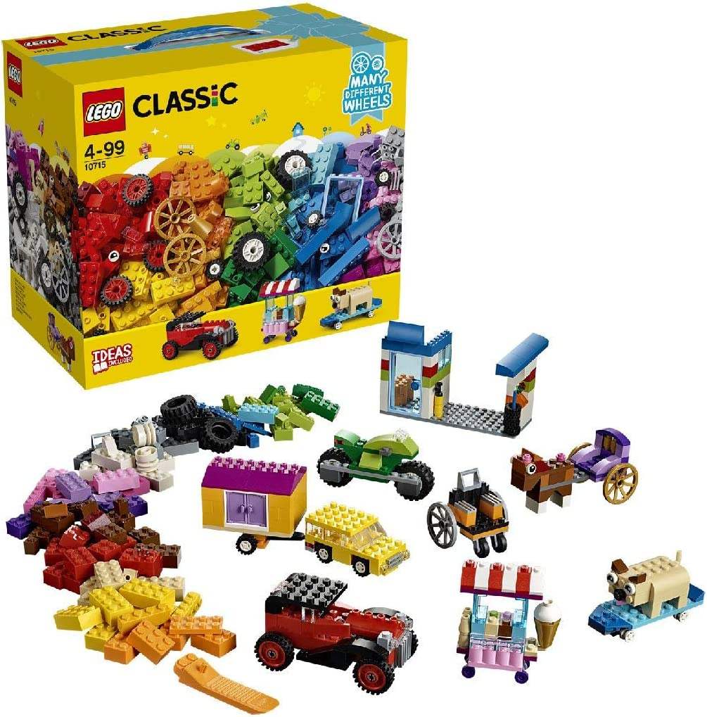 LEGO Classic - Bricks On A Roll 10715