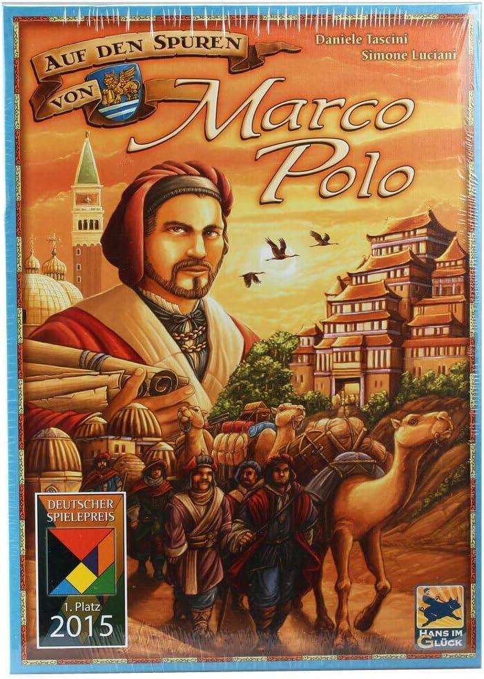 Hans im Glück HIGD1004 en el Spuren de Marco Polo, Multicolor ...