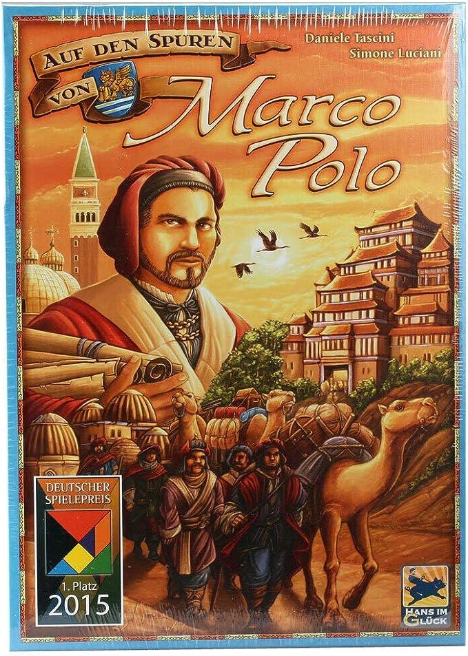 Hans im Glück HIGD1004 en el Spuren de Marco Polo, Multicolor, Colorido: Amazon.es: Juguetes y juegos