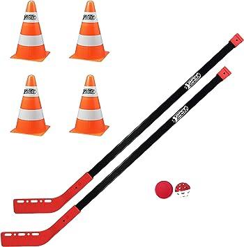 Best Sporting - Juego de Hockey sobre Calle (2 Palos de 100 cm, 1 ...