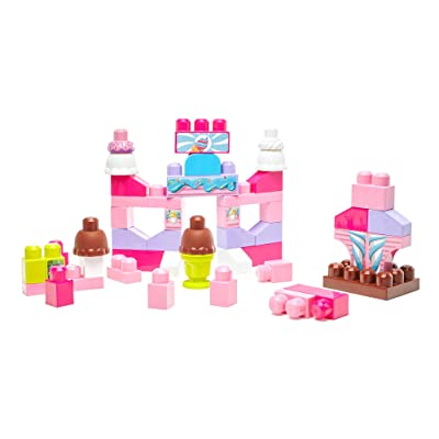 Mega Bloks Ice Cream Parlor: Toys & Games