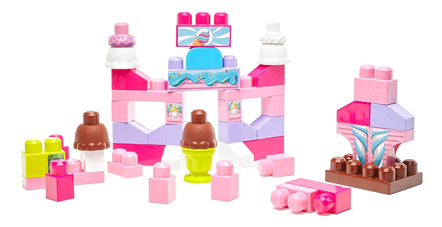 Mega Bloks Ice Cream Parlor Building Set