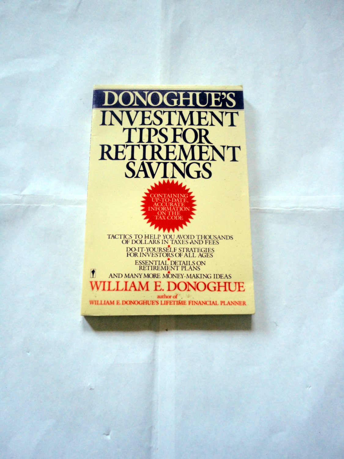 Donoghue investments 101 panatek investment group