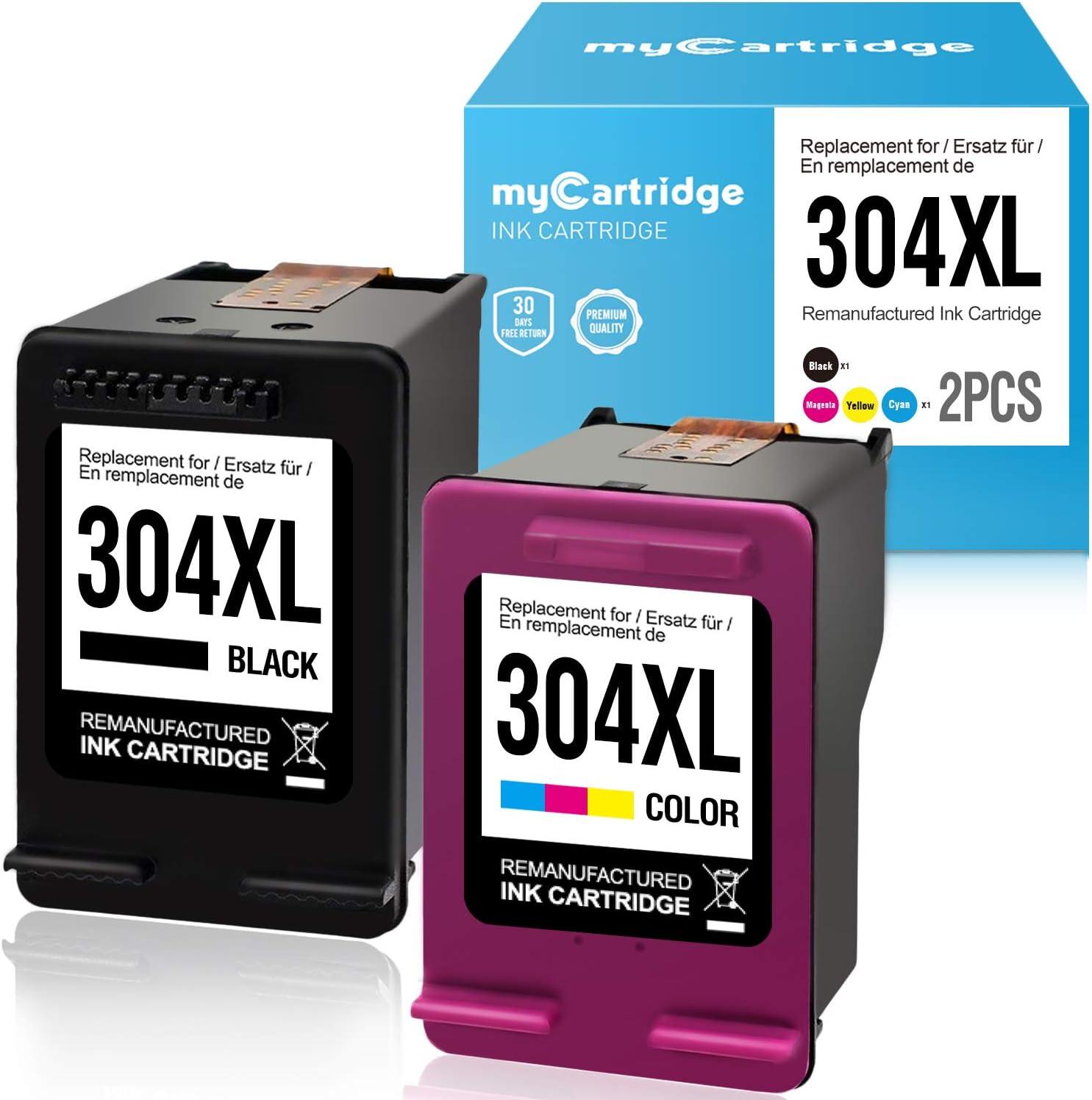 MyCartridge Compatible HP 304 XL 304XL Cartuchos de Tinta para HP ...