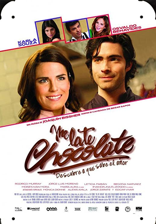 Mexico Movie Me Late Chocolate pelicula metal poster cartel ...