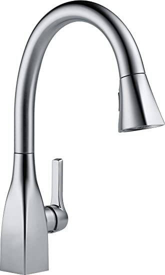 Delta Faucet 9183 AR DST Mateo Single Handle Pull Down Kitchen Faucet,