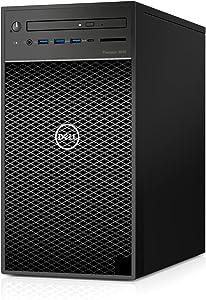 Dell Precision 3640 Workstation - Core i3-10100 CPU (4 Core) - 8GB DDR4 RAM - 500GB HDD - Tower - Windows 10 Pro - Warranty