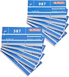 Herlitz 1-1000/892703  - Bloque de papeles numerados 105x50 mm surtido de , color es 1000 hojas