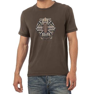 Texlab Moria Miner Guild - Herren T-Shirt, Größe S, Braun