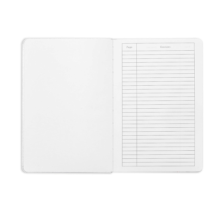 234NumberedPages San Francisco GussetedPocket Plain Composition B5 7.6x10 Minimalism Art Hard Cover Ribbon Bookmark Pink Ink-ProofPaper120gsm Premium Edition Notebook