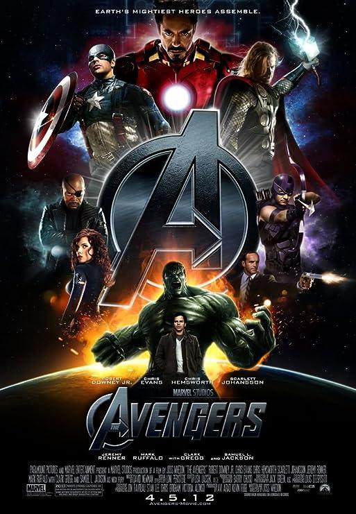 014 The Avengers 24x35 inch Silk Poster Seda Cartel Aka ...