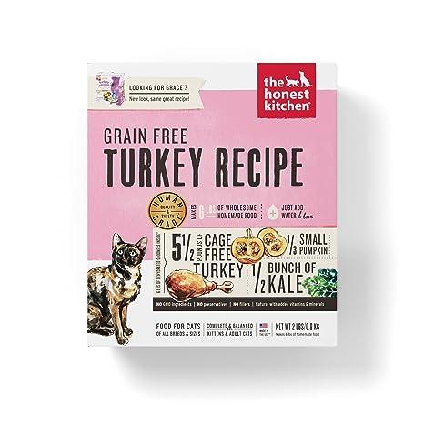 Amazon Com Honest Kitchen Grain Free Turkey Cat Food Recipe 2 Lb