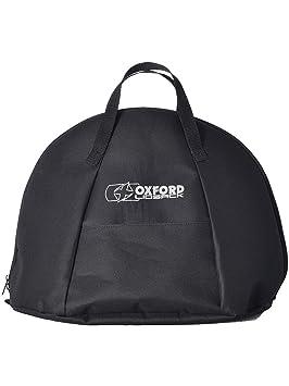 lidsack Bolsa para Casco Oxford para Motocicleta, Negro, Resistente al Agua